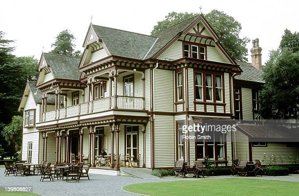 Historic Riccarton House (1856-1900), Christchurch, South Island, New Zealand