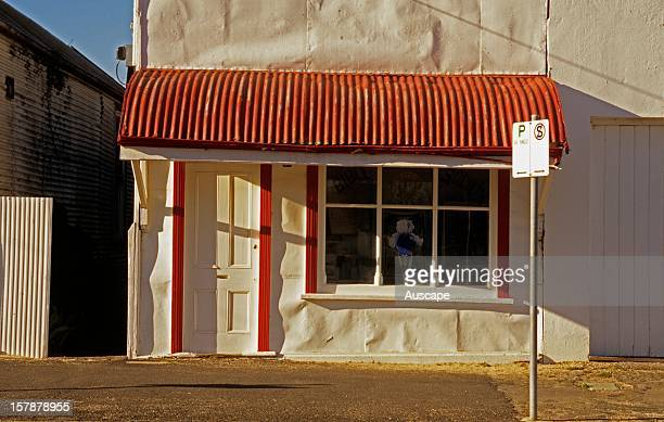 Historic shop in the town of Rainbow founded in 1901 Mallee region Victoria Australia