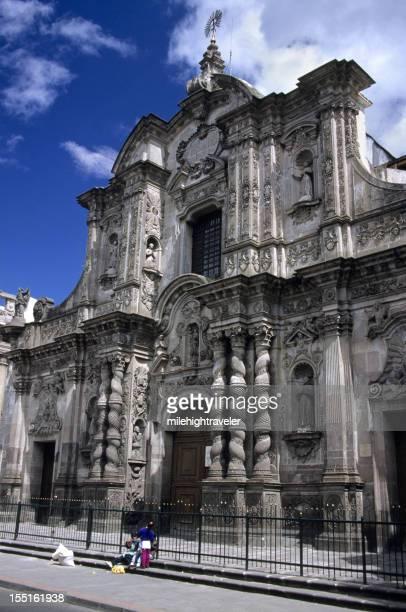 Histórica iglesia española de Quito, Ecuador