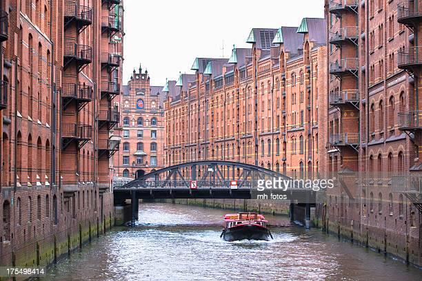 Die historische Speicherstadt Hamburg