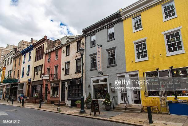 Historic street view, Philadelphia