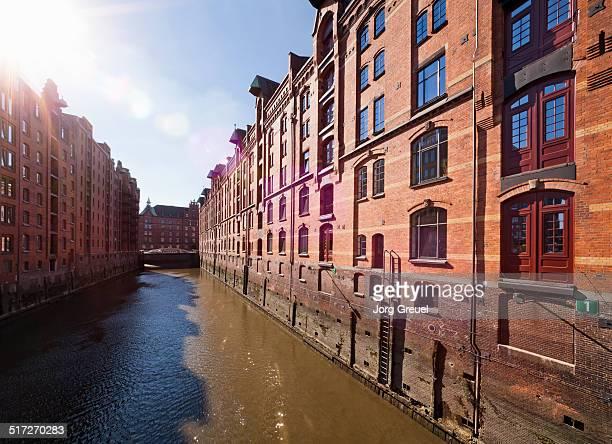 Historic warehouses