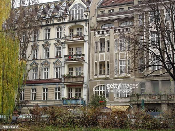 Historical buildings along Landwehrkanal, Berlin