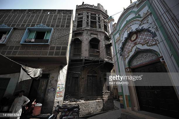 Historical buildings are pictured in the old town section of Multan on March 17 2012 Multan one of the oldest cities in the Asian subcontinent and...