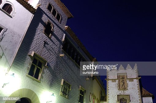 historical center Sitges, Barcelona province, : Stock Photo