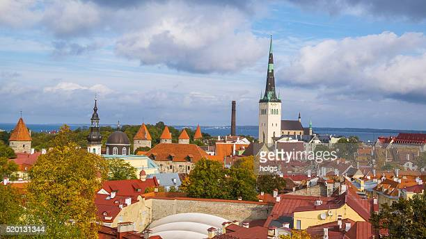 Historical distric in Tallinn, Estonia