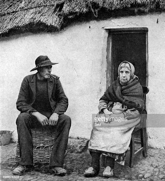 Historical Geography 1900 Ireland Study in maternal pride and filial affection Outside the lowroofed cabin where she has spent most of her life sits...