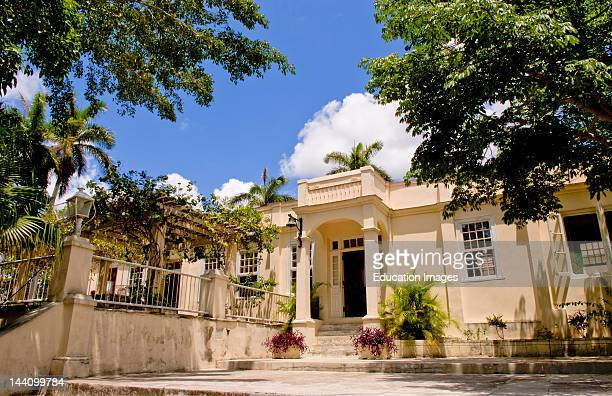 Historical Home Of Ernest Hemingway In Havana Cuba