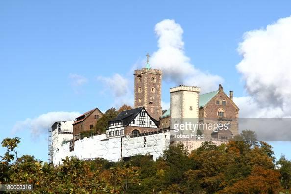 CONTENT] Historical place where Luther was hiding On a mountain near Eisenach Thuringia Thüringen Eisenach