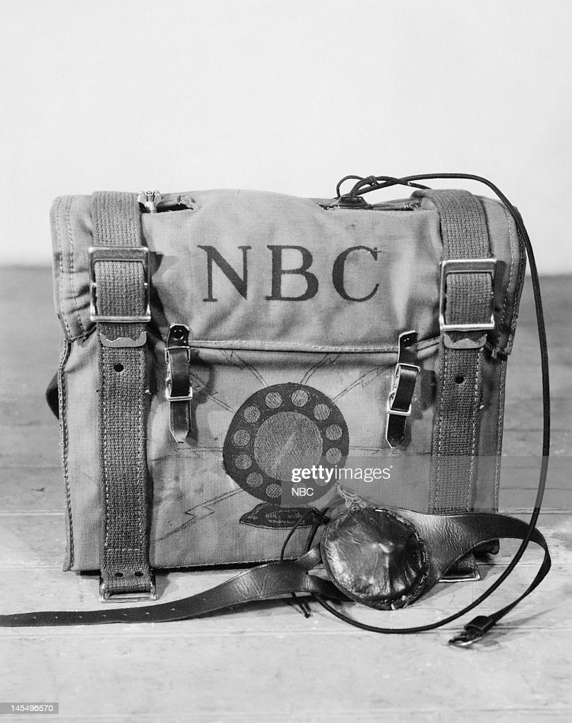 Radio Equipment- Transmitters -- Pictured: The first radio pack transmitter from 1929 --