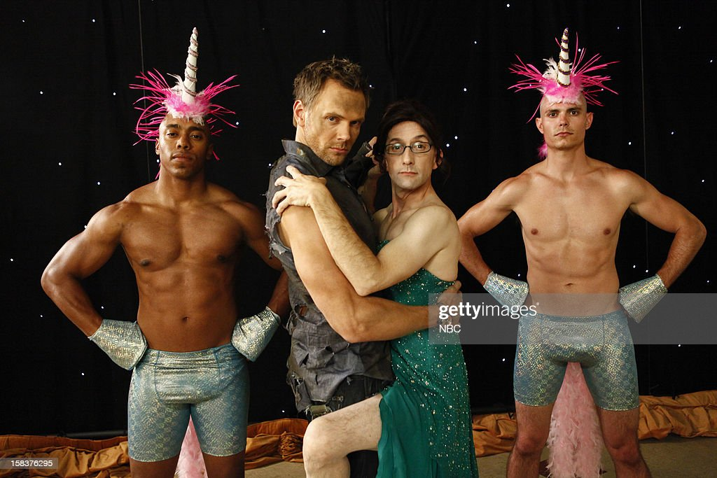 COMMUNITY -- 'History 101' Episode 401 -- Pictured: (l-r) <a gi-track='captionPersonalityLinkClicked' href=/galleries/search?phrase=Joel+McHale&family=editorial&specificpeople=754384 ng-click='$event.stopPropagation()'>Joel McHale</a> as Jeff Winger, <a gi-track='captionPersonalityLinkClicked' href=/galleries/search?phrase=Jim+Rash&family=editorial&specificpeople=742689 ng-click='$event.stopPropagation()'>Jim Rash</a> as Dean Pelton --