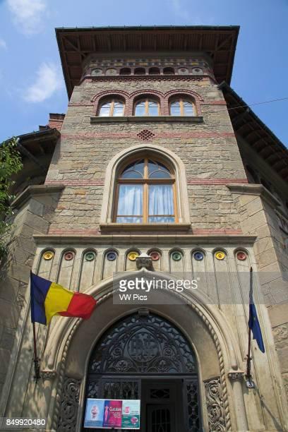 History and Archaeology Museum Stefan cel Mare near Piata Libertatii Piatra Neamt Moldavia Romania