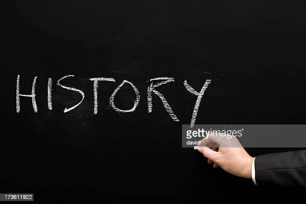 History Chalk Text