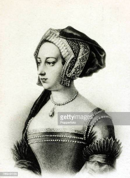 History Personalities English Royalty pic circa 1530 Anne Boleyn the second wife and Queen of King Henry VIII and mother of the future Queen...