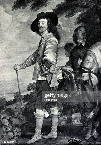 History Personalities English Royalty pic circa 1640 King Charles I King Charles I who reigned 16251649 was eventually executed for treason in 1649...