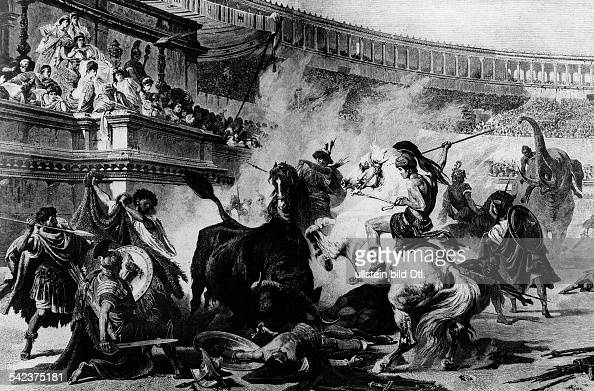 a history of the gladiator games in ancient rome History and the hunger games  children into the hunger games, a gladiator-esque battle to the death  learn about ancient rome or fascist italy but.