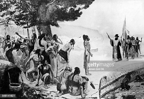 Jean Nicolet in search for a sea route to china commissioned by the governor of newfrance Samuel Champlain As first white man he arrives in the...