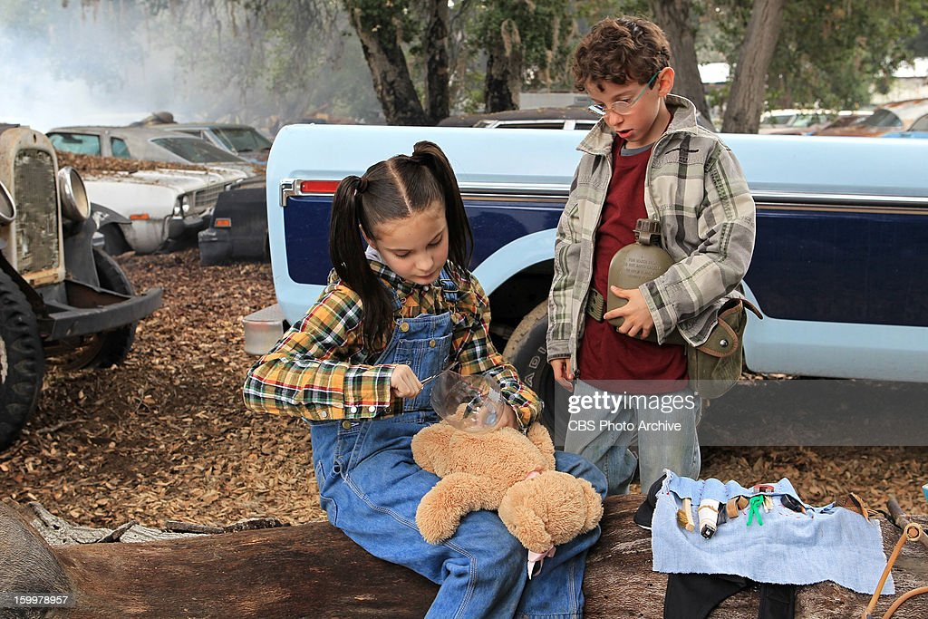 'Hit and Run' -- The NCIS team investigates a Marine'™s car accident and ignites some upsetting past memories for Abby as a young girl (Brighton Sharbino, pictured left) on the trail of her first 'œcase,' on NCIS, Tuesday, Jan. 29 (8:00-9:00 PM, ET/PT) on the CBS Television Network. also pictured: Cole Sand