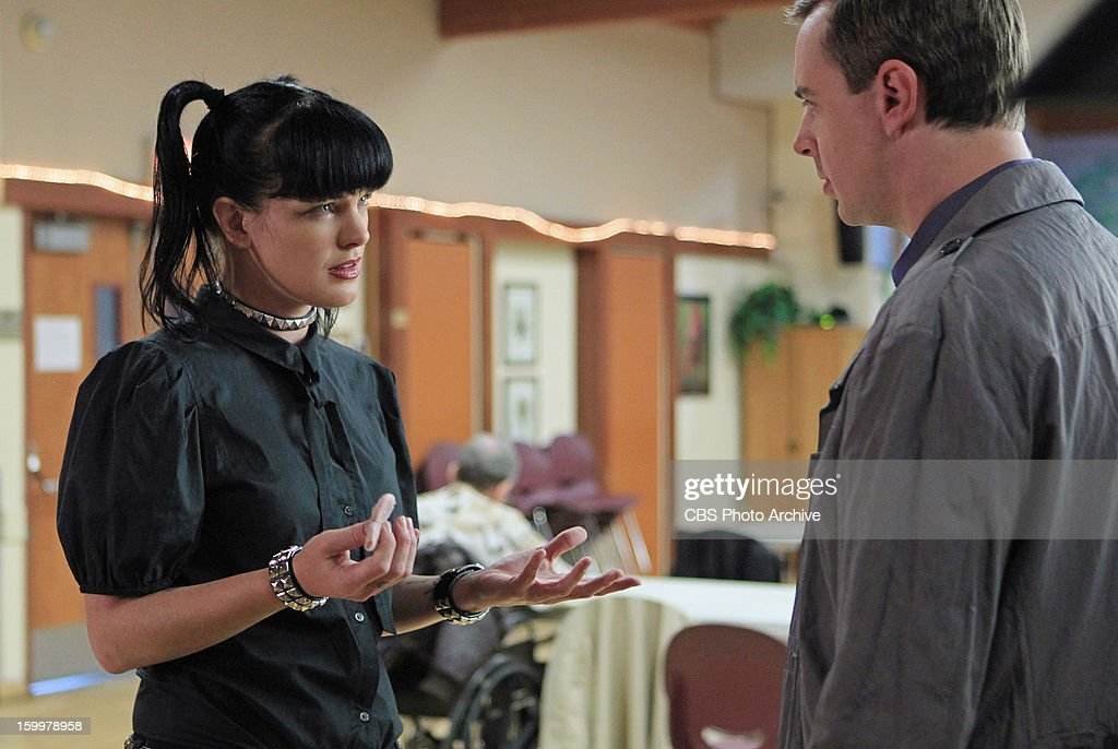 'Hit and Run' -- The NCIS team investigates a Marine'™s car accident and ignites some upsetting past memories for Abby (Pauley Perrette, left) as a young girl on the trail of her first 'œcase,' on NCIS, Tuesday, Jan. 29 (8:00-9:00 PM, ET/PT) on the CBS Television Network. also pictured: Sean Murray