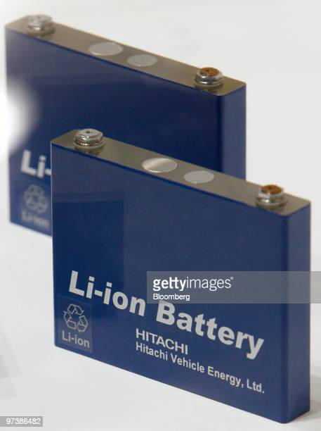 Lithium Ion Battery Stock Photos And Pictures