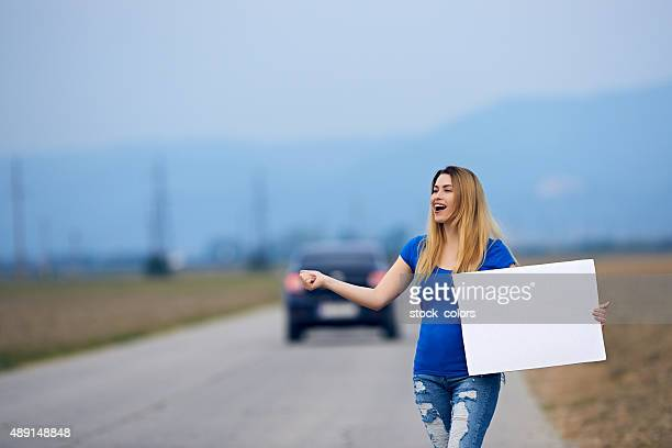 hitch hiking time
