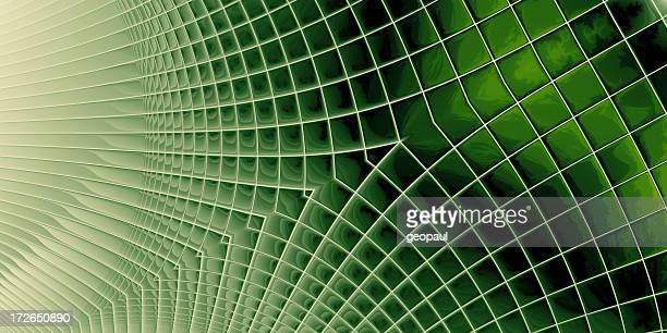 Hitech Green - abstract background