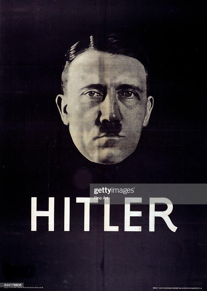 Hitler election poster, 1932.