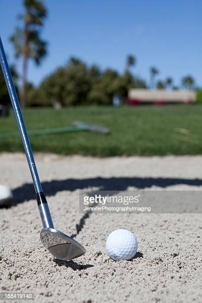 Hitting out of a Sand Trap