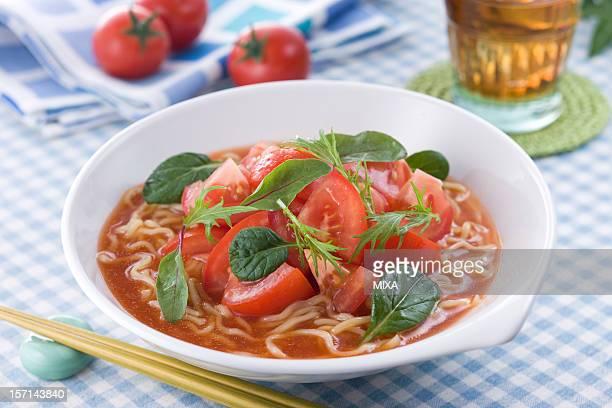 Hiyashi Tomato Noodles