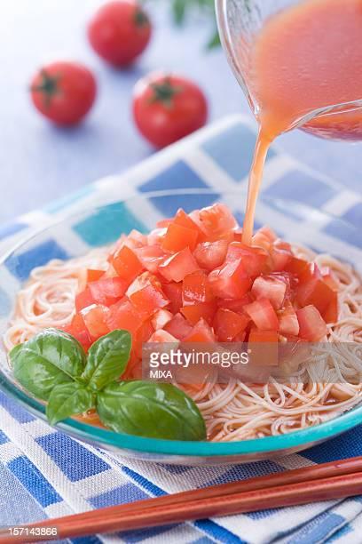 Hiyashi Tomato Somen