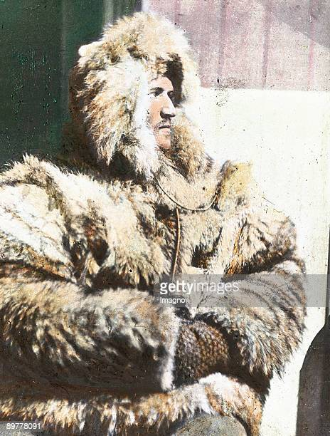 Hjalmar Johansen a successful athlete who was working as a heater and meteorological assistant on the Fram accompanied Fridtjof Nansen on the march...