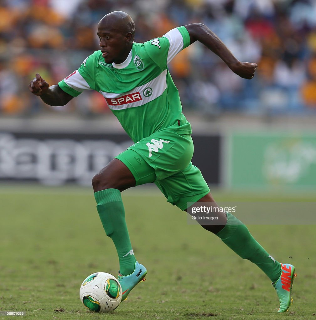 Hlanti Sifiso of AmaZulu during the Absa Premiership match between AmaZulu and Kaizer Chiefs at Moses Mabida Stadium on December 22, 2013 in Durban, South Africa.