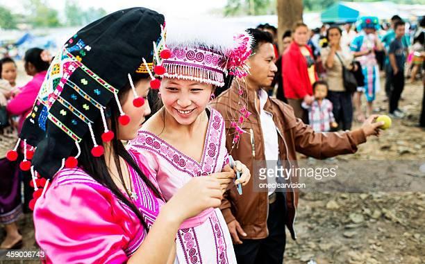 Hmong beautés du Nouvel An