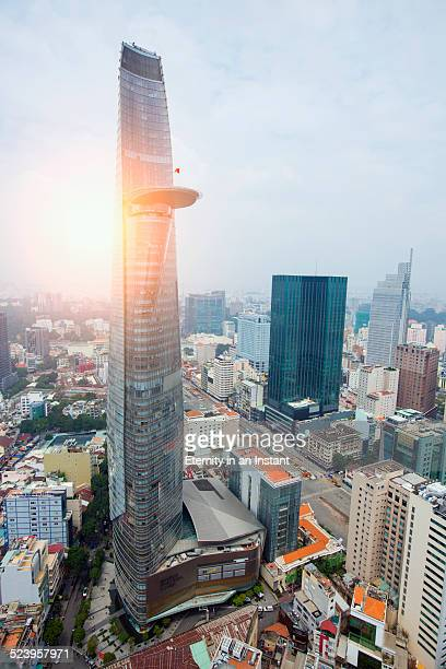 Ho Chi Minh City cityscape, Vietnam