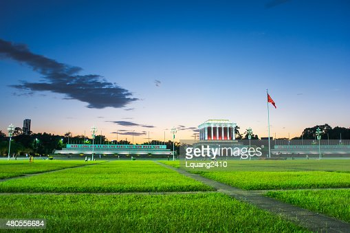 Ho Chi Minh Mausoleum : Stock Photo