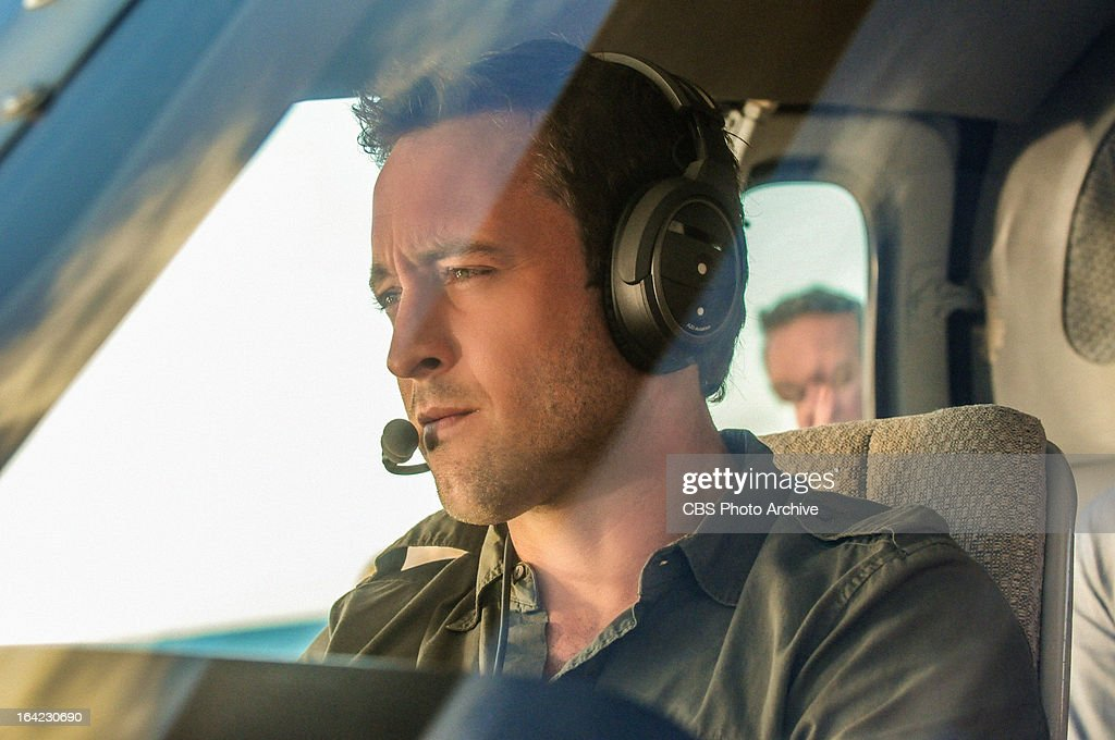 'Hoa Pili' -- When the threats turn deadly against a tour company that has been endangering the local shark population, Five-0 faces the difficult task of narrowing down the suspect list. Meanwhile the team (Alex O'Loughlin pictured) debates whether or not Kamekona will earn his helicopter license, on HAWAII FIVE-0, Monday, March 25 (10:00-11:00 PM, ET/PT) on the CBS Television Network.