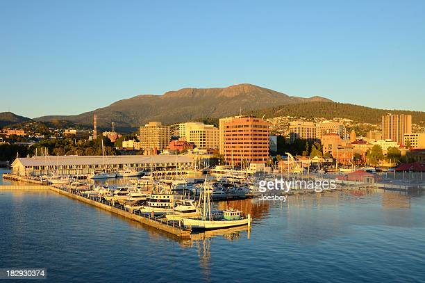 Hobart And Sullivans Harbor At Dawn