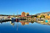 Hobart Marina In Morning