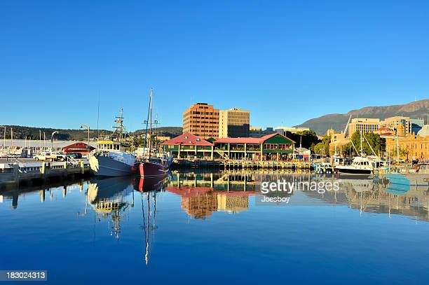Hobart Marina In Morning