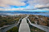 Hobart: Top view