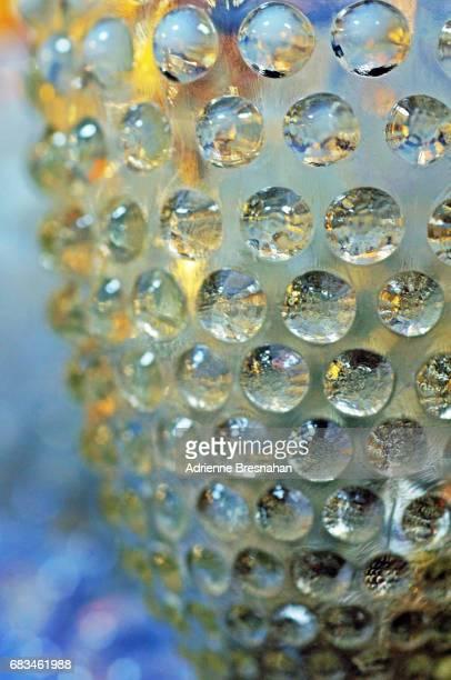 Hobnail Glass, Close-Up