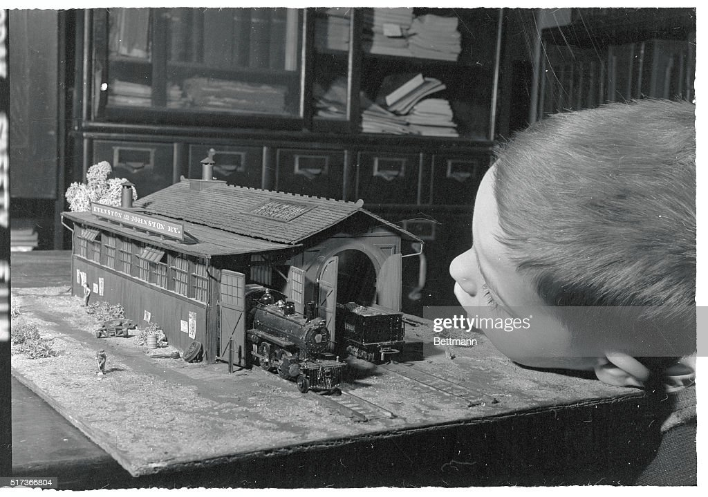 More than Just A Toy Realistic details of this prizewinning model railway engine house do not escape awestruck 3 1/2 year old William Deckery of...