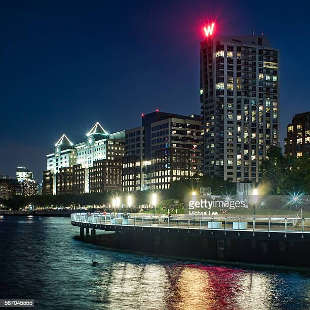 Hoboken New Jersey night view
