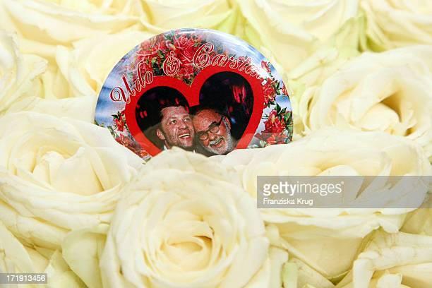 Hochzeit Von Udo Walz Und Carsten Thamm Im Japanischen Garten Im Hotel Brandenburger Hof In Berlin Am 260708