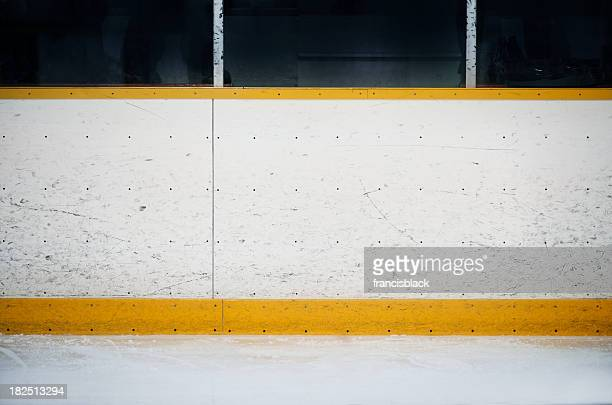 Stade de Hockey sur fond de planches