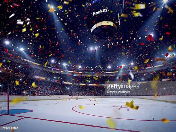 Stade de Hockey célébration pouvant s'ouvrir