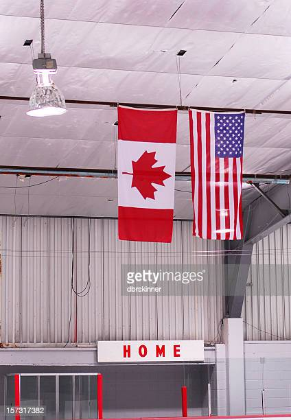 Hockey Arena Flags