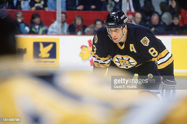 Boston Bruins Cam Neely during game vs Montreal Canadiens at Montreal Forum Montreal Canada 1/19/1994 CREDIT David E Klutho