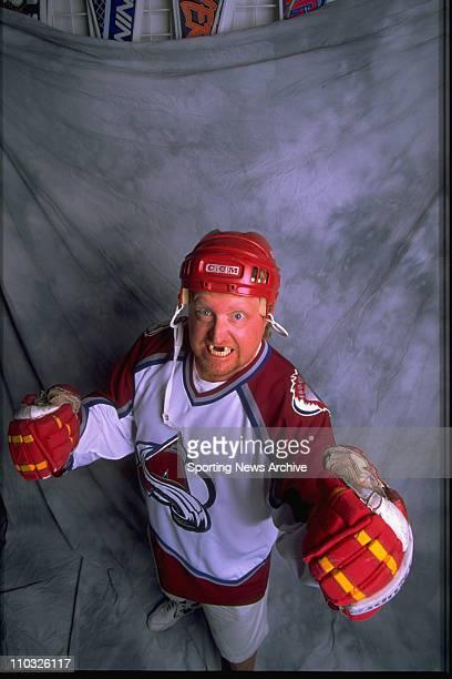 Hockey Colorado Avalanche fan Karl ''Zinger'' Huizenga