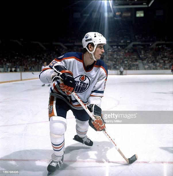 Edmonton Oilers Wayne Gretzky in action vs Montreal Canadiens at Northlands Coliseum Edmonton Canada 2/5/1983 CREDIT Manny Millan